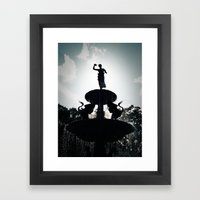Heavenly Fountain Framed Art Print