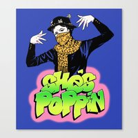 She's Poppin Canvas Print