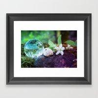 COLLECTION »CRYSTAL BAL… Framed Art Print