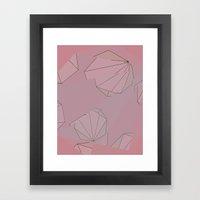 Shapes Shifted Framed Art Print