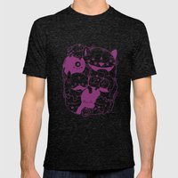 The living dream Mens Fitted Tee Tri-Black SMALL