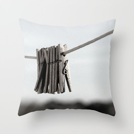 In a pinch Throw Pillow
