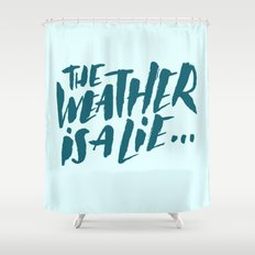 The Weather Shower Curtain