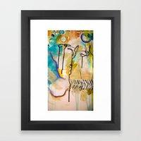 Love Colors Framed Art Print