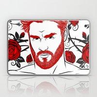 Red & Roses Laptop & iPad Skin