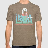 One Lava Mens Fitted Tee Tri-Coffee SMALL