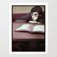 Blankpages Art Print