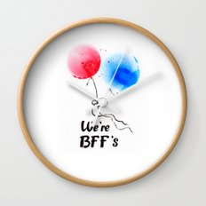 We're BFF's Wall Clock