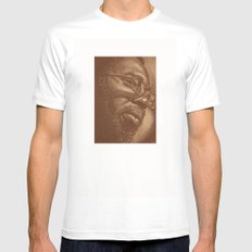 incredible curtis! SMALL White Mens Fitted Tee