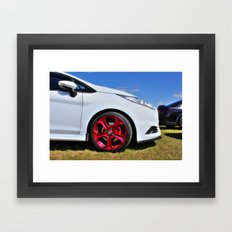 Red Alloys on a Fiesta Framed Art Print