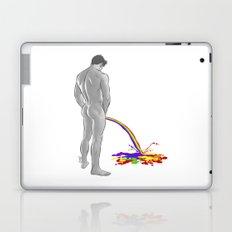 Rainbow pee Laptop & iPad Skin