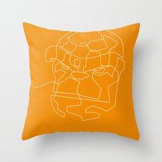 One Line The Thing Throw Pillow