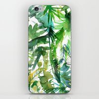 VIBE of the Jungle  {A-green} iPhone & iPod Skin