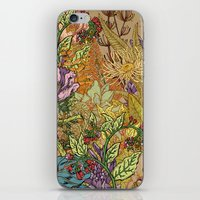 Floral Garden iPhone & iPod Skin