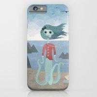 iPhone & iPod Case featuring Sea Maiden by Robert Scheribel
