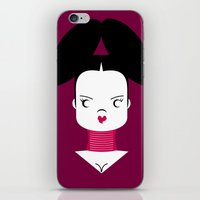 Bjork iPhone & iPod Skin