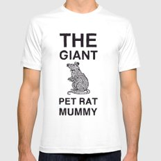 The Giant Pet Rat Mummy Mens Fitted Tee White SMALL