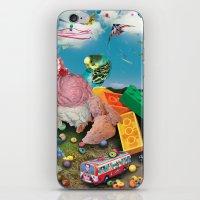 Collage 1 iPhone & iPod Skin