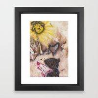 Angelbaby Framed Art Print
