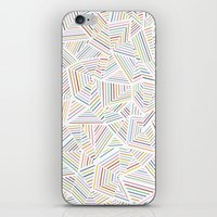 Abstraction Linear Rainbow iPhone & iPod Skin