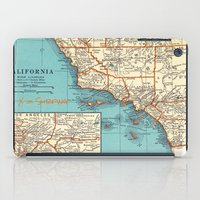 So Cal Surf Map iPad Case