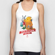 Magic Forest Gang! Unisex Tank Top