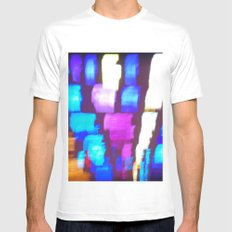 Finger (Glass) Painting White SMALL Mens Fitted Tee