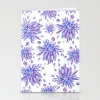 Zero Gravity Crystals II Stationery Cards