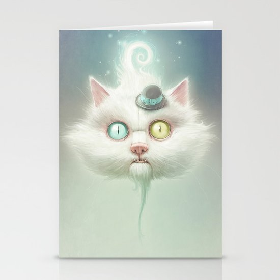 Release the Odd Kitty!!! Stationery Card