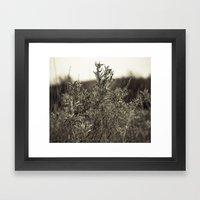 Fall Textures Framed Art Print