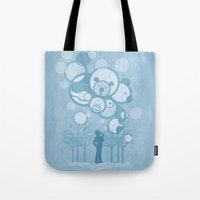 Don't Burst the Bubble Tote Bag