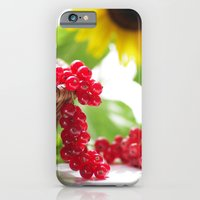Red summer fruits image iPhone 6 Slim Case