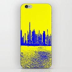 Miami Yellow Blue iPhone & iPod Skin
