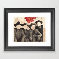 Lonesome Quartet Framed Art Print