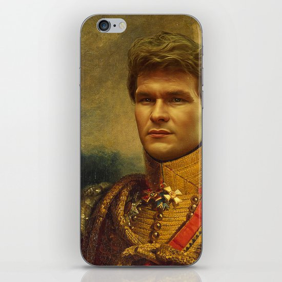 Patrick Swayze - replaceface iPhone & iPod Skin