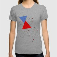 Knot Womens Fitted Tee Tri-Grey SMALL