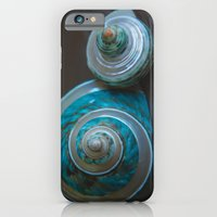 Blue and Green Seashells iPhone 6 Slim Case