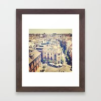 New Favorite City Framed Art Print