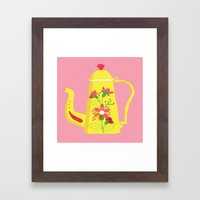 Tea Pot Framed Art Print