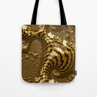 Electric Gold Tote Bag