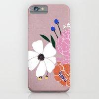winter floral iPhone 6 Slim Case