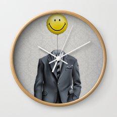 Mr. Smiley :) Wall Clock