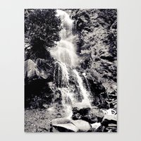 Waterfall 3, Colorado Canvas Print