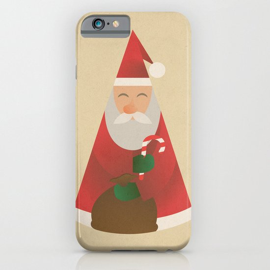 Father Christmas iPhone & iPod Case