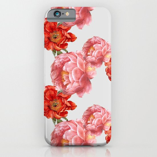 vintage floral iPhone & iPod Case