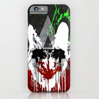 iPhone & iPod Case featuring Arkham City Joker!  by bionicman31