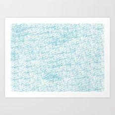 Cool Blue Art Print