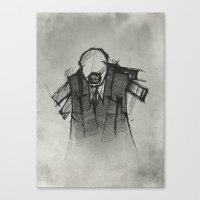 Wraith III. Canvas Print