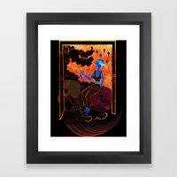 Muse Of Astronomy  Framed Art Print