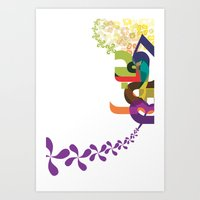 Flowers of Simele Art Print